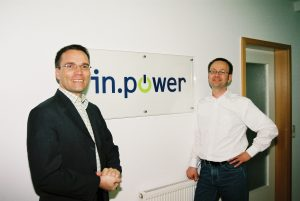 Gründung von in.power 2006: Josef Werum und Matthias Roth
