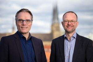Geschäftsführer Josef Werum und Matthias Roth