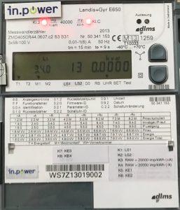 in.power metering-Zähler