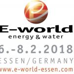 Logo E-World 2018