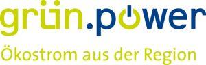 Logo: grün.power - Ökostrom aus der Region